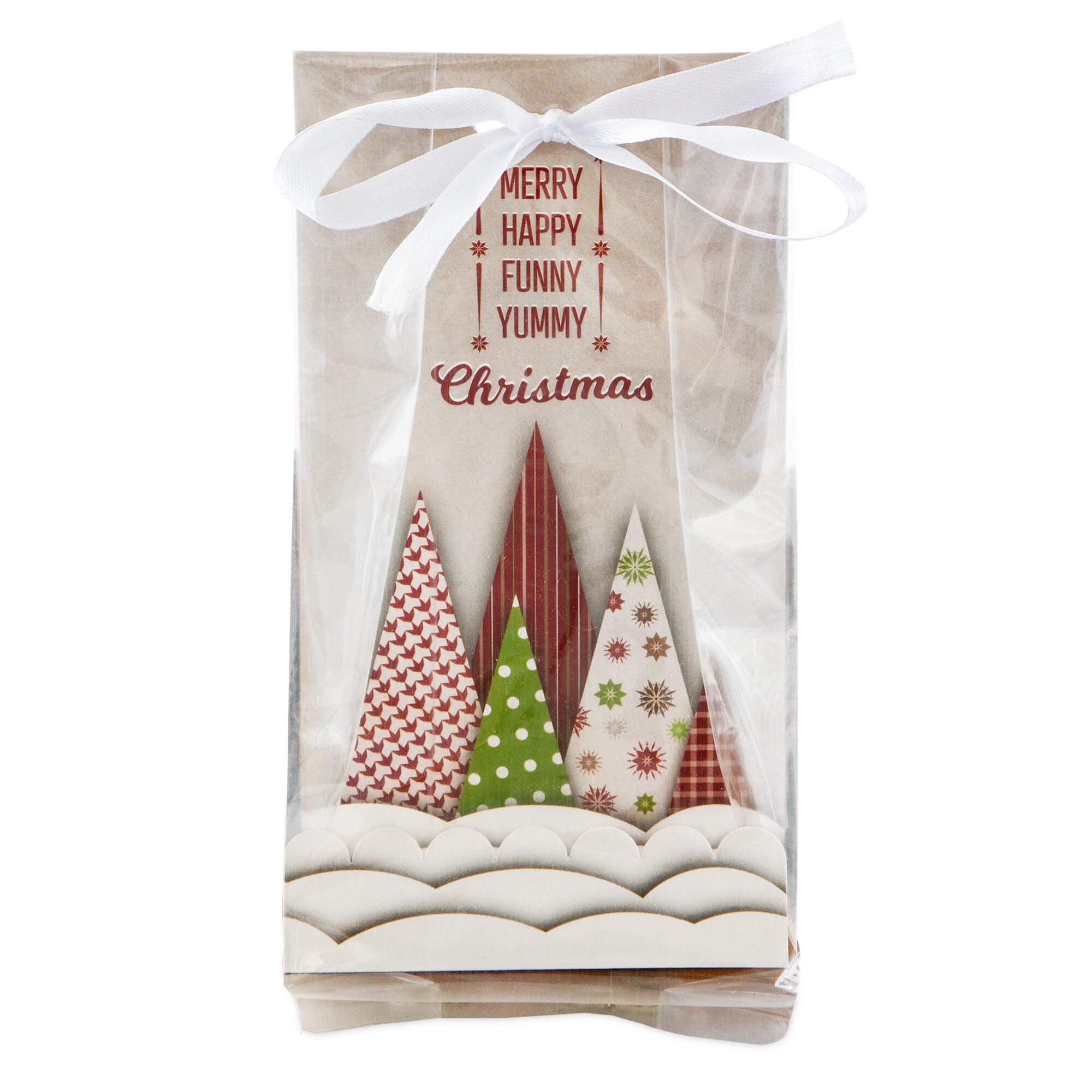 Geschenktüten - Yummy Christmas - Set, 24-teilig