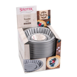 Display - Tartlet cake tin - 24 parts
