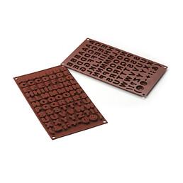 Schokoladen- & Pralinenform - Buchstaben
