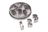 Cookie Cutter - Numbers - Set, 10 parts